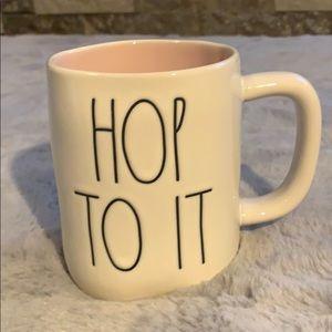 Rae Dunn Hop To It mug